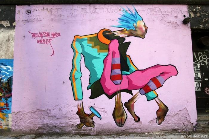 graffiti buenos aires patxi mazzoni alonso artista buenosairesstreetart.com street art tour