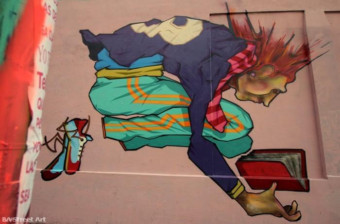 граффити Буэнос-Айрес Patxi Mazzoni Алонсо Artista buenosairesstreetart.com стрит-арт тур