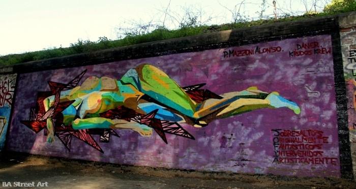 mujeres arte callejero street art buenos aires buenosairesstreetart.com BA Street Art Tours