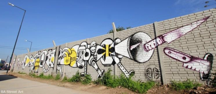 graffiti tour buenos aires argentina ene ene tatuajes nelson navarro artista buenosairesstreetart.com