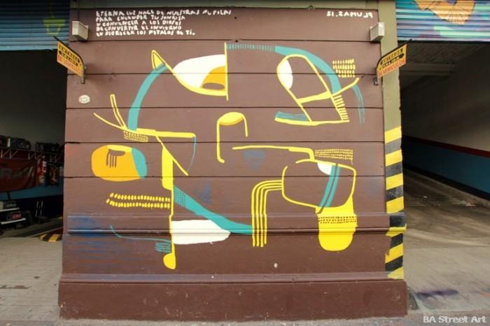 graffiti buenos aires san telmo murales pelos de plumas buenosairesstreetart.com