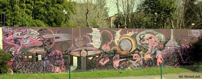 THG graffiti buenos aires street art tour buenosairesstreetart.com