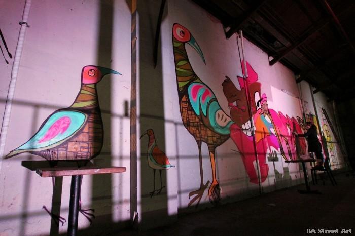 boutique boliche san telmo graffiti BA Street Art buenosairestreetart.com