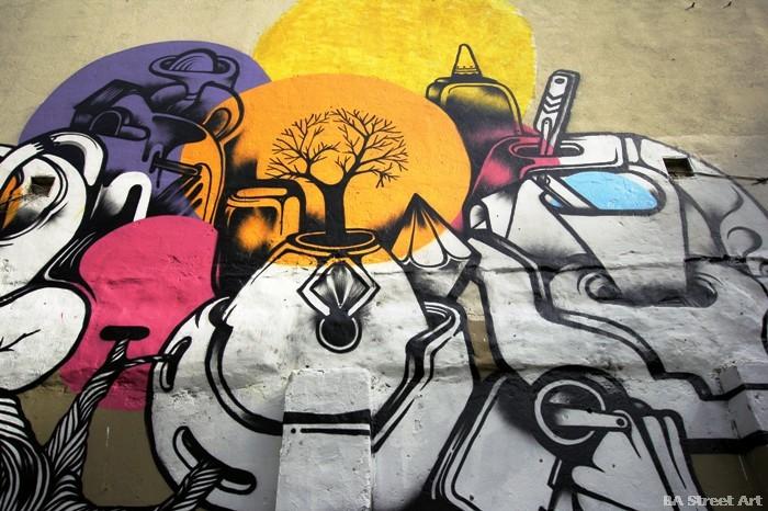 buenos aires graffiti ene ene tatuajes murales street art buenosairesstreetart.com BA Street Art