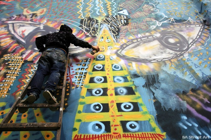 buenos aires graffiti malegria artista colombiano street art murales buenosairesstreetart.com