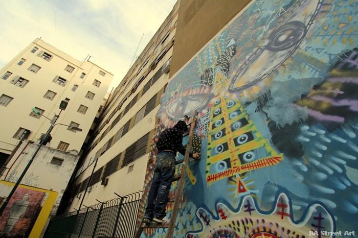 buenos aires graffiti malegria street art murales arte urbano buenosairesstreetart.om