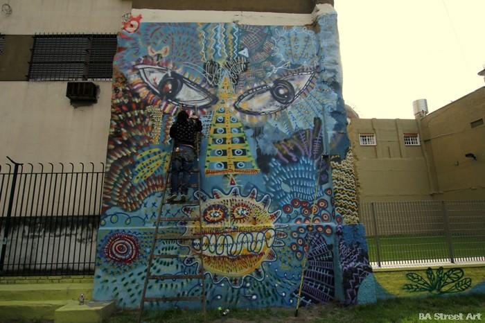 buenos aires graffiti malegria street art murales buenosairesstreetart.com