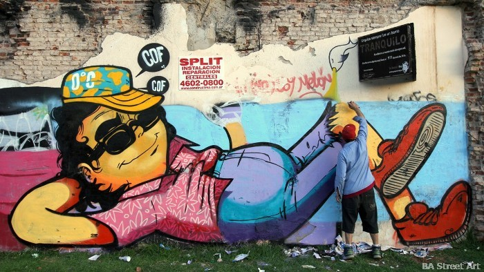 Ba street art for Graffitis y murales callejeros