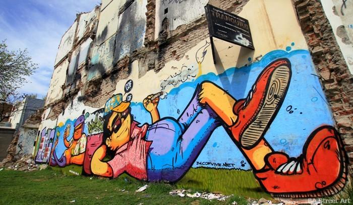 buenos aires graffiti tour street art cof animalito land buenosairesstreetart.com arte urbano