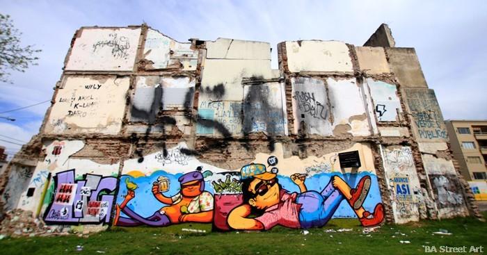 buenos aires graffiti tour street art cof animalito land buenosairesstreetart.com murales