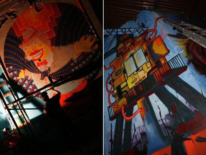 graffiti buenos aires Salvador Kalavera Tekaz adri godis buenosairesstreetart.com
