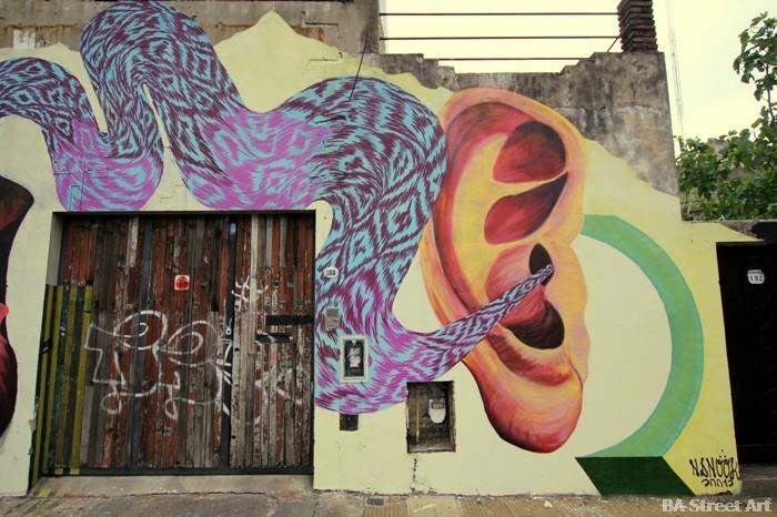 graffiti buenos aires nanook street art mural argentina buenosairesstreetart.com