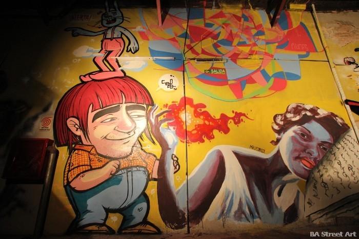 graffiti buenos aires street art tour buenosairesstreetart.com boutique san telmo