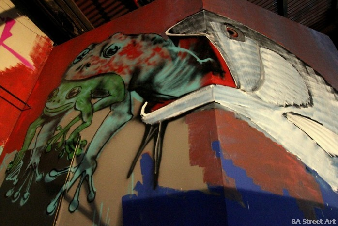 graffiti san telmo buenos aires nightclub boutique buenosairestreetart.com street art