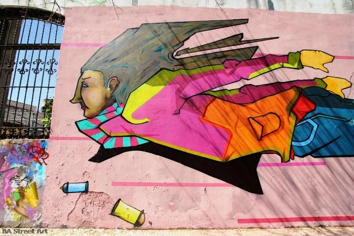 buenos aires graffiti tour murales colegiales buenosairesstreetart.com