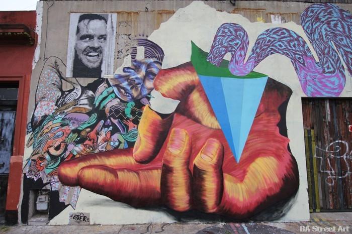 graffiti tour buenos aires nanook street art mural argentina buenosairesstreetart.com