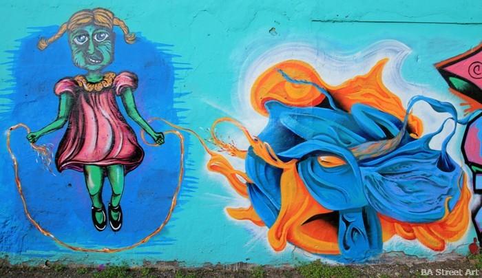 graffiti tour buenos aires street art BA Street Art buenosairesstreetart.com