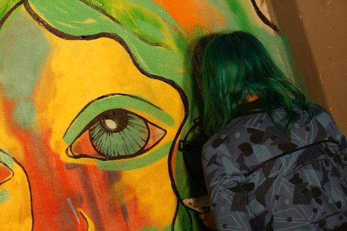 lu barr artista buenos aires street art adri godis photography buenosairesstretart.com