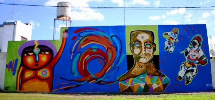 zig zag graffiti festival encuentro street art la plata buenos aires artista callejeros arte urbano