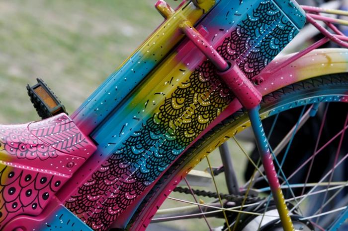 Lu Na artista buenos aires festival de bici planetario street art tour adri godis photography