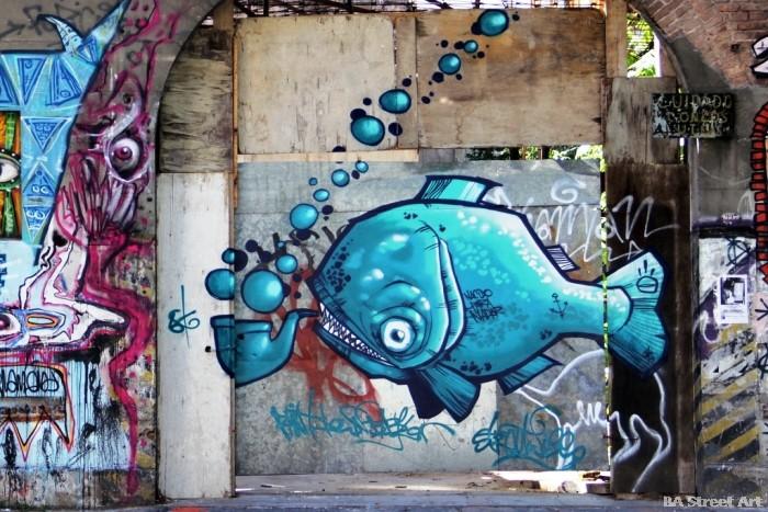 Buenos Aires graffiti tour graffiti artists buenosairesstreetart.com