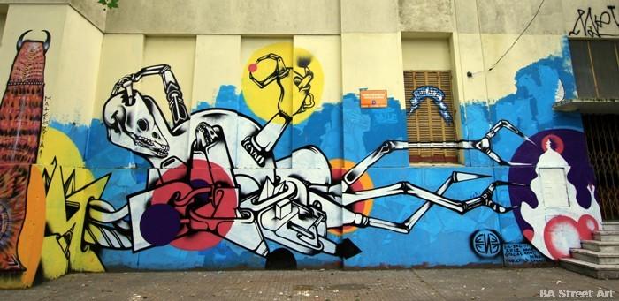 La Plata graffiti buenos aires ene ene murales buenosairesstreetart.com