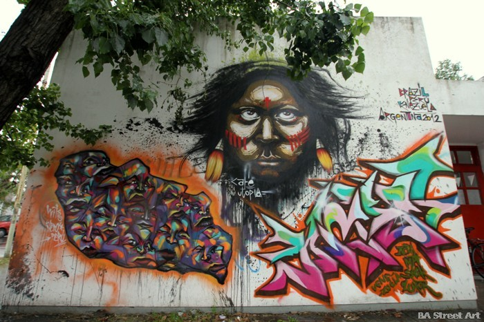buenos aires graffiti la plata buenosairesstreetart.com zig zag BA Street Art