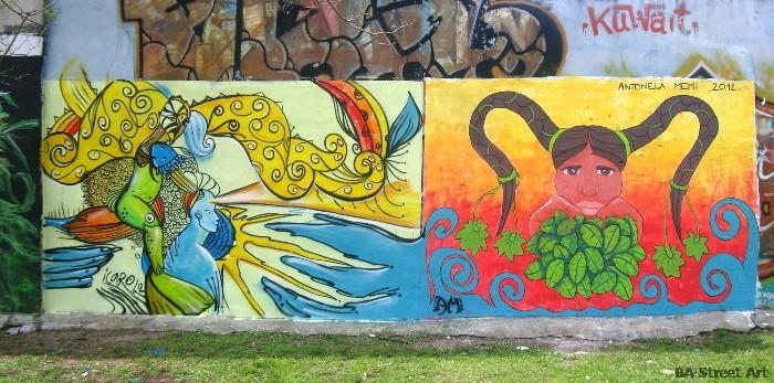 buenos aires graffiti tour BA Street Art buenosairesstreetart.com
