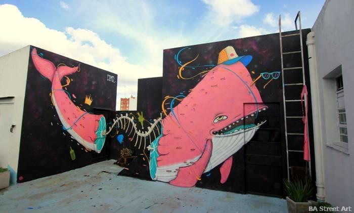 buenos aires graffiti tour advertising agency Jujubaland pomb