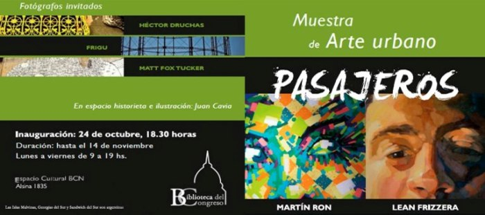 lean frizzera martin ron street art exhibition buenos aires BCN