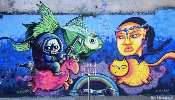 street art paraguay oz montania graffiti murales buenosairesstreetart.com