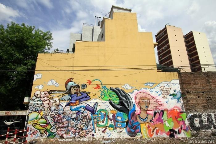 buenos aires graffiti murales graffiteros argentinos buenosairesstreetart.com