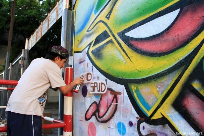 buenos aires graffiti artist arte callejero yllo buenosairesstreetart.com