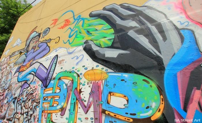 The Day of the Triffids John Wyndham graffiti buenosairesstreetart.com
